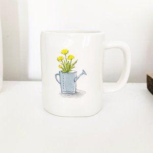 ✨ NWT Springtime Flower Pot Mug   Rae Dunn